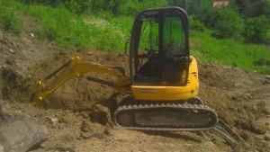 Usługi sprzętowe i roboty ziemne